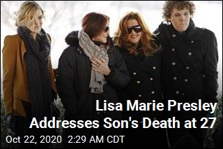 Lisa Marie Presley Speaks Out on Son's Death