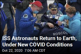 Astronaut Swap Complete as Trio Returns Home From ISS