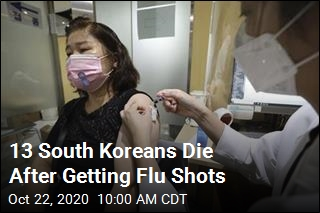 South Korea Investigates 13 Deaths After Flu Shots
