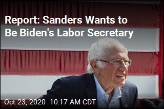 Report: Sanders Wants to Be Biden's Labor Secretary