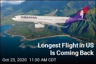 Longest Flight in US Is Coming Back