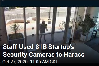 Staff Used $1B Startup's Security Cameras to Harass