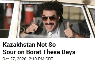 Kazakhstan Not So Sour on Borat These Days