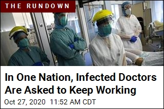In One Nation, Infected Doctors Are Asked to Keep Working