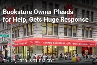 Bookstore Owner Pleads for Help, Gets Huge Response