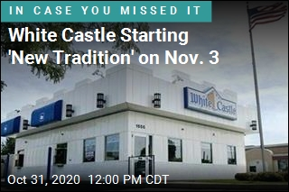 White Castle Is Making Rare Move on Election Day
