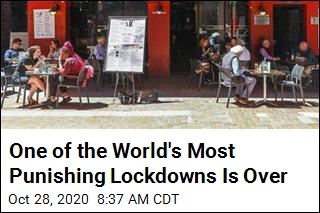 A Punishing 111-Day Lockdown Has Ended