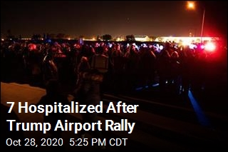 Cops: 7 Hospitalized After Trump's Omaha Rally