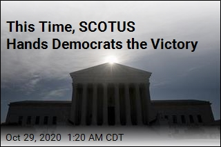 This Time, SCOTUS Hands Democrats the Victory