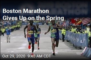 Boston Marathon Gives Up on the Spring
