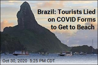 Brazil: Tourists Lied on COVID Forms to Get to Beach