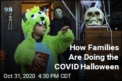 How Families Are Doing the COVID Halloween