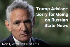 Trump Adviser: Sorry for Going on Russian State News
