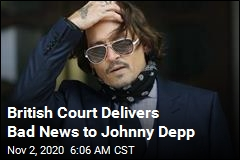 British Court Delivers Bad News to Johnny Depp