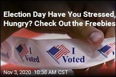 Election Day Freebies Include Doughnuts, Chicken, Massages