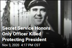 Secret Service Honors Only Officer Killed Protecting President