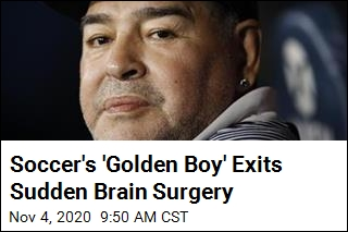 Soccer's 'Golden Boy' Exits Sudden Brain Surgery