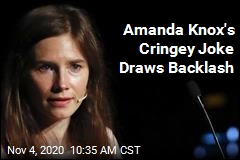 Amanda Knox Election Joke Doesn't Go Over Well
