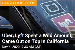 Uber, Lyft Come Out on Top in California