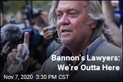 Bannon's Lawyers React to Call for 'Beheadings'