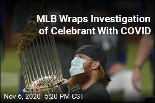 MLB Wraps Investigation of Celebrant With COVID
