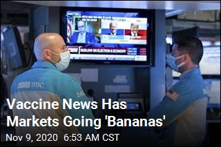 Vaccine News Has Markets Going 'Bananas'