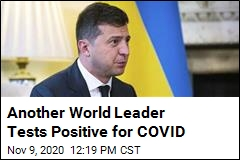 Ukraine's President Tests Positive for COVID