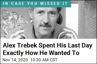 Alex Trebek Spent His Last Day Exactly How He Wanted To