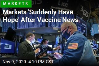 Dow Jumps 834 Points Amid New Vaccine Hope