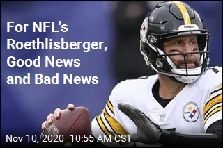 For NFL's Roethlisberger, Good News and Bad News