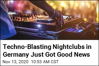 Techno-Blasting Nightclubs in Germany Just Got Good News