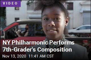 She Just Composed for the NY Philharmonic—and She's 12