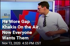 He Wore Gap Khakis On the Air. Now Everyone Wants Them