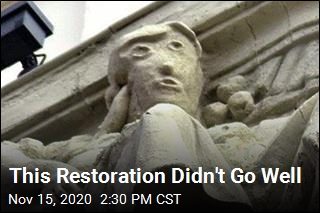Restoration Turns Statue Into 'Fugly Humanoid'