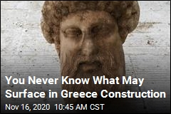 You Never Know What May Surface in Greece Construction