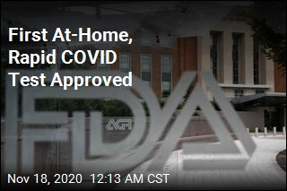 FDA Approves Rapid COVID Test for At-Home Use