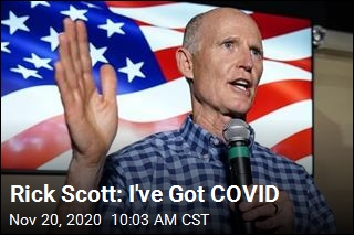 Rick Scott: I've Got COVID