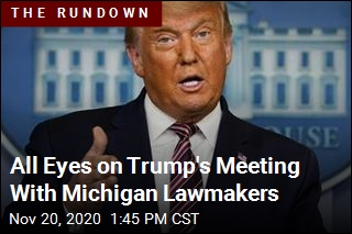 All Eyes on Trump's Meeting With Michigan Lawmakers