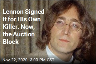 Lennon Signed It for His Own Killer. Now, the Auction Block