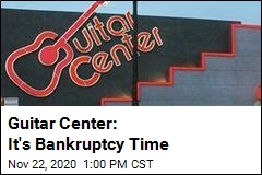 Guitar Center Files for Bankruptcy