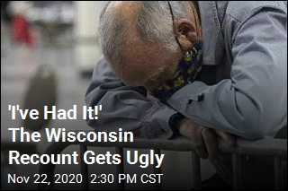 The Recount Gets Ugly in Wisconsin
