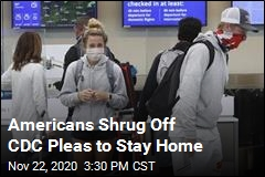 Americans Shrug Off CDC Pleas to Stay Home