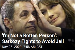 France's Sarkozy Now Fighting to Avoid Prison