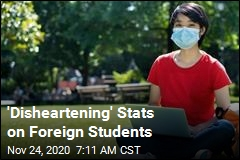 'Disheartening' Stats on Foreign Students