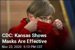 CDC: Kansas Shows Masks Are Effective