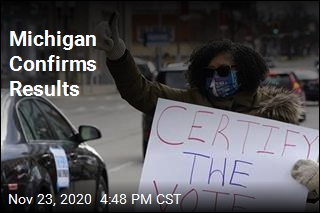 Michigan Certifies Biden Win