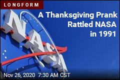 A Thanksgiving Prank Rattled NASA in 1991