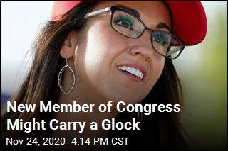 New Member of Congress Might Carry a Glock