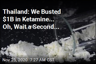 Thailand Hailed a Big Ketamine Bust. Only Problem: No Ketamine