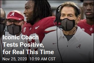 Alabama Coach Tests Positive, for Real This Time